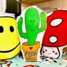 Love Frankie Prickle Pants Cactus Cushion