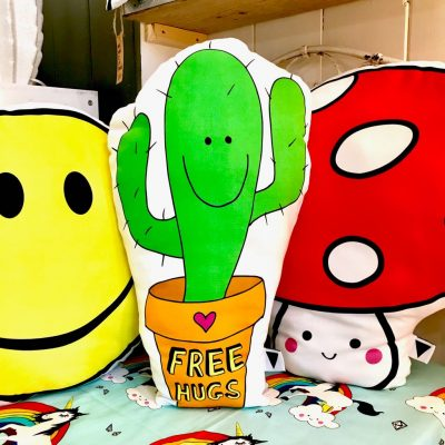Love Frankie Prickle Pants Cactus Cushion