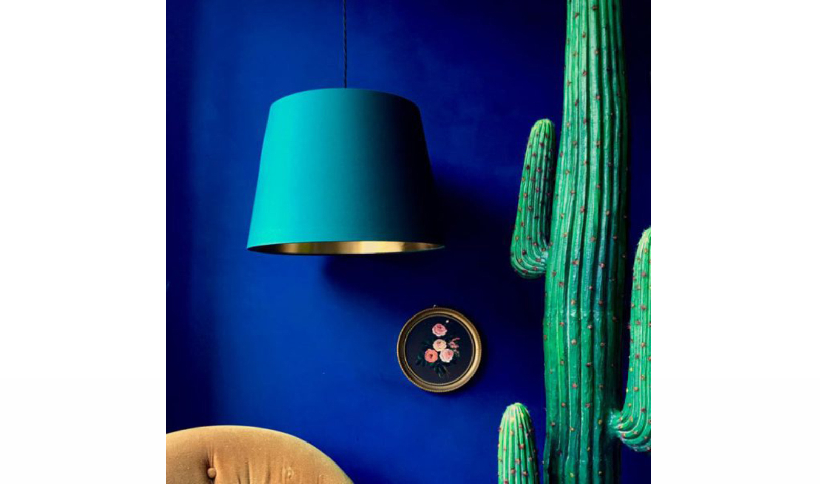 Hunter Green French Drum Lampshade