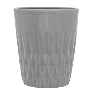 Textured tumbler in Grey