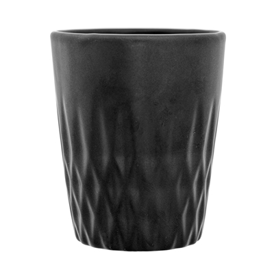Textured Tumbler in Black