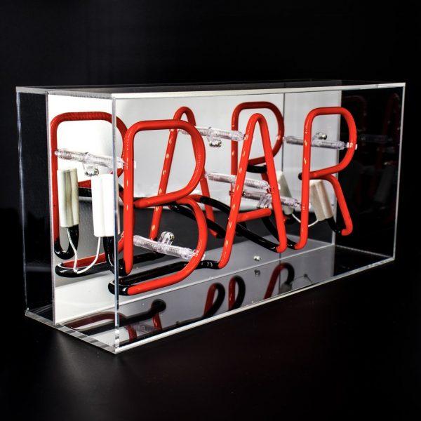 Bar Neon Light Box