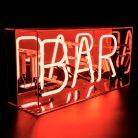 "Neon Light box ""Bar"""