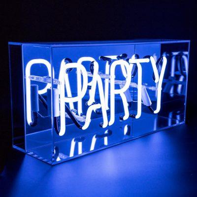 Neon Light Party Acrylic light box