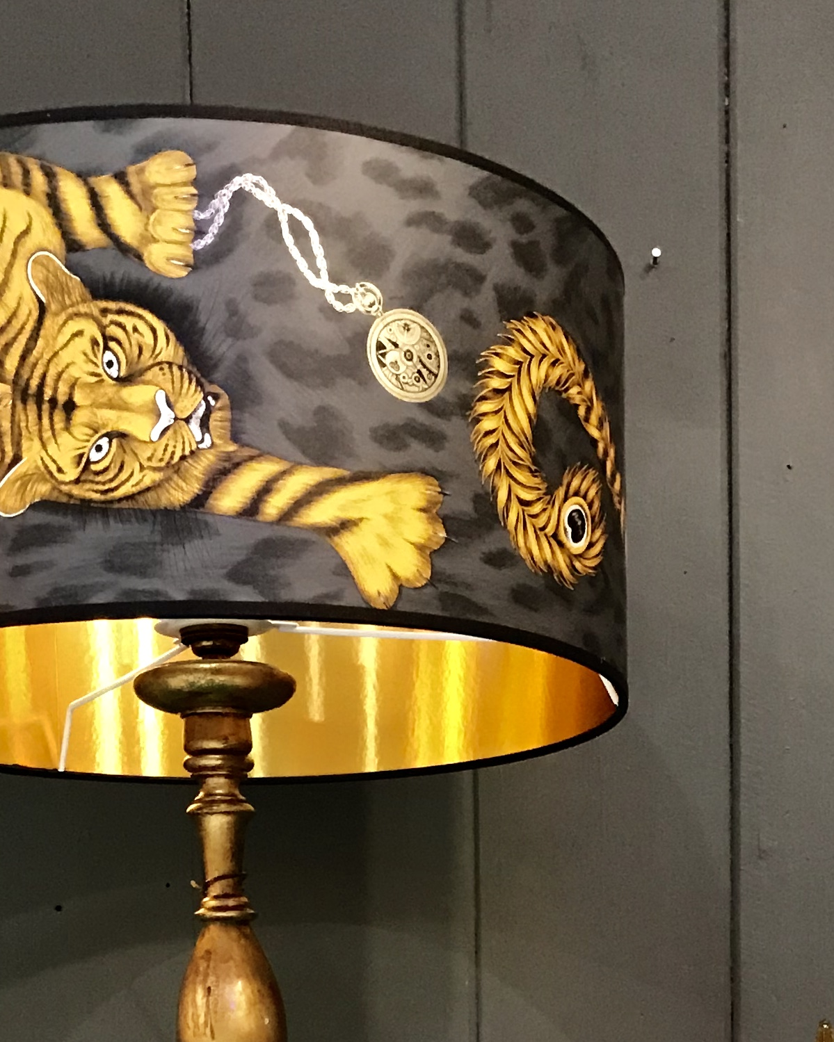 Tigris Lampshade With Gold Lining Love Frankie
