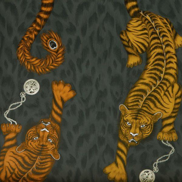 Emma J Shipley Tigris Wallpaper