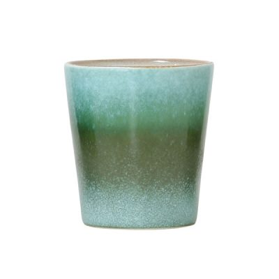 70s Inspired Ceramic Cup – Grass