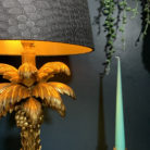 love frankie lamp with mic croc lampshade