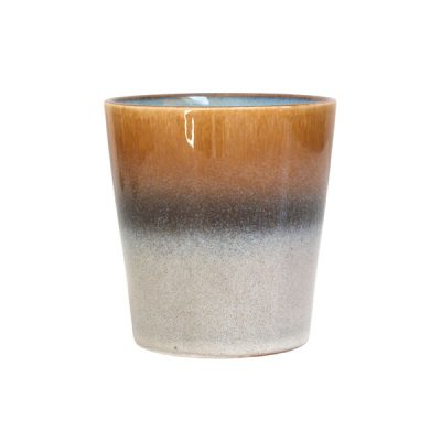70s Inspired Ceramic Cup – Mountain