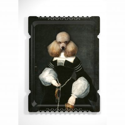 Diane the poodle ibride tray
