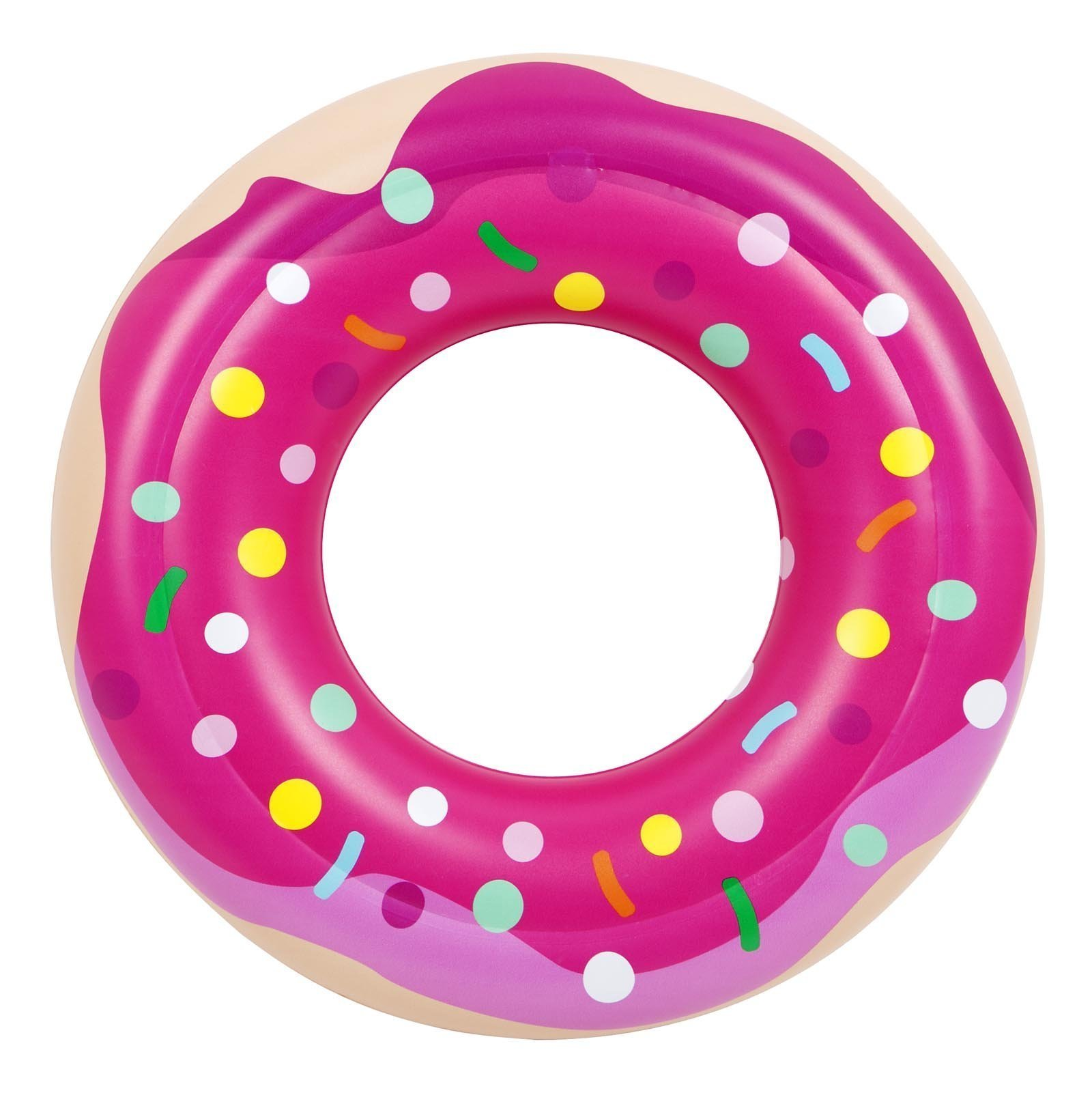 Awesome Kids Inflatable Donut Pool Ring Love Frankie