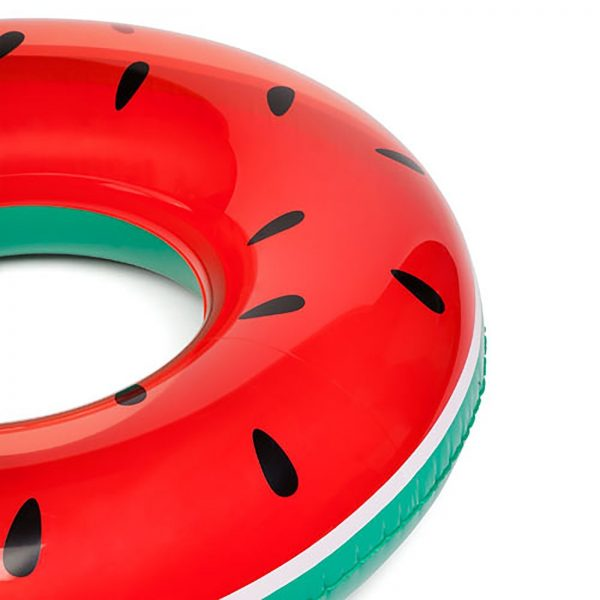Watermelon Rubber Ring Inflatable