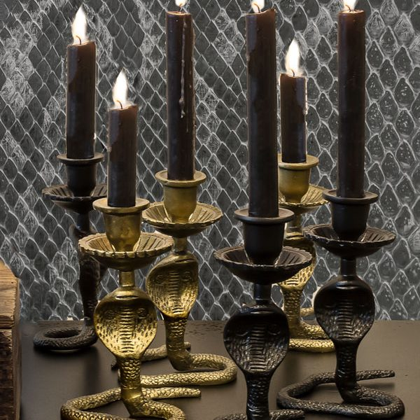 Serpent Snake Candle Sticks
