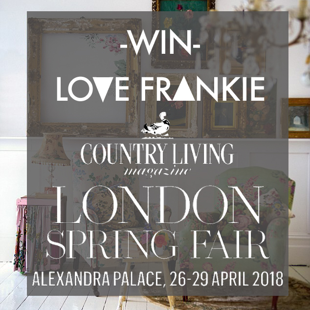 Win Tickets to Country Living London Spring Fair
