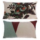 Japanese inspired Kyoto Floral Bolster Cushion