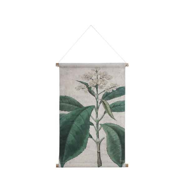 Illustrated botanical Wall Hanging in Medium