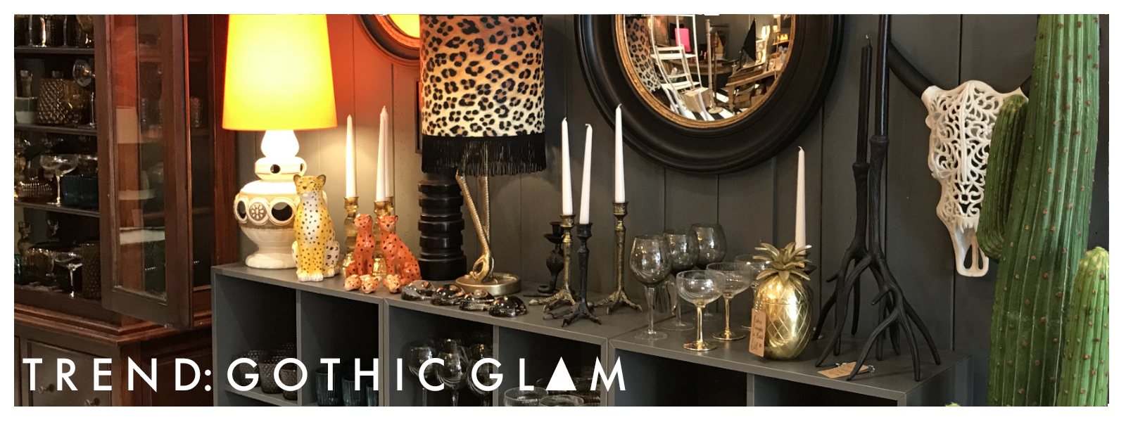 gothic glam inspired homewares and accessories