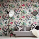Muck & Brass ChiMiracle Wallpaper in Light Grey