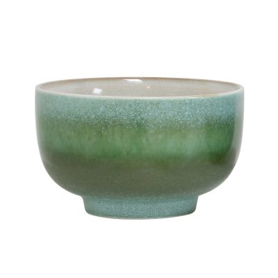 70s inspired ceramic bowl - Grass