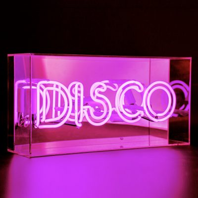 Neon Light DISCO Acrylic Light Box
