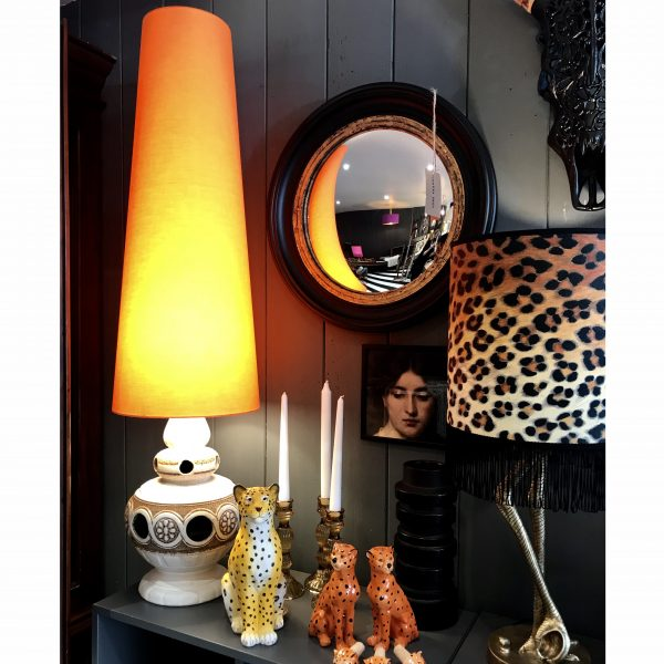 King Cone Oversized statement lampshade handmade by Love Frankie