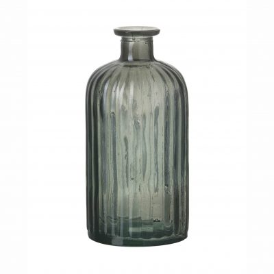 Grey Glass Bottle - Small