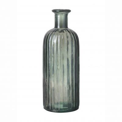 Grey Glass Bottle - Large