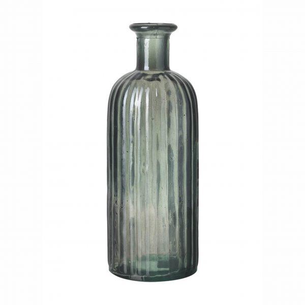 Grey Glass Bottle - Large
