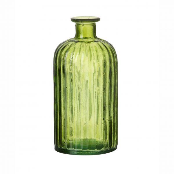 Green Glass Bottle - Small