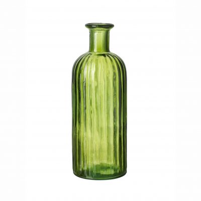 Green Glass Bottle - Large