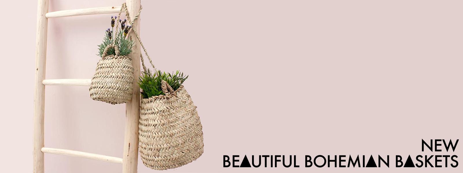 Bohemian baskets