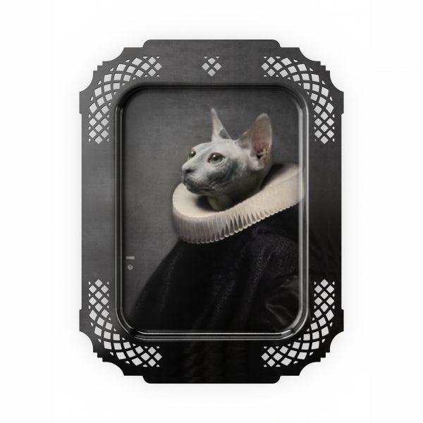 Ibride Portrait Tray - Le Chat