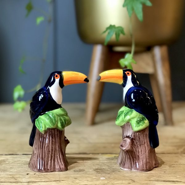 Tropicana Toucan Salt & Pepper Shaker