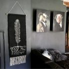 Bohemian Feather Wall Hanging