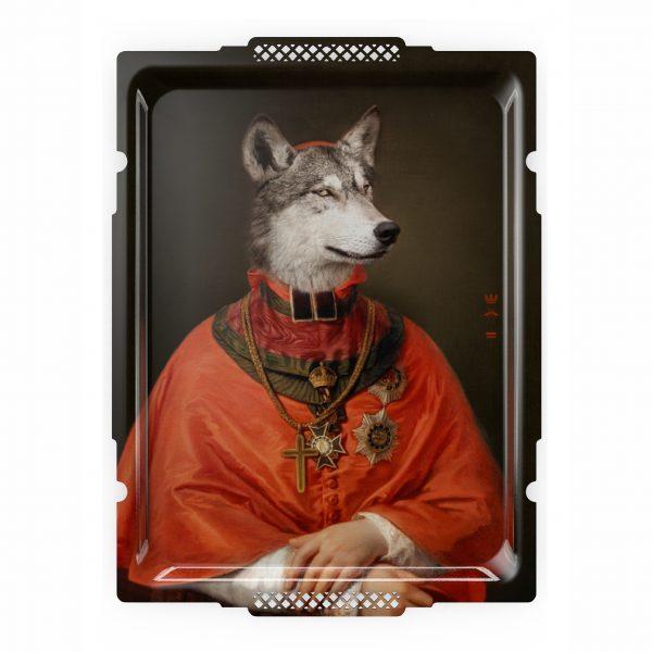 Ibride Portrait Tray - Le Loup