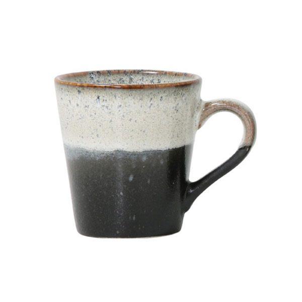 Ceramic 70's Espresso Cug Rock
