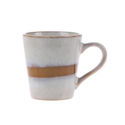 Ceramic 70's Espresso Mug Snow