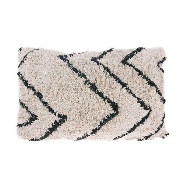 Berber Inspired Zig Zag cushion