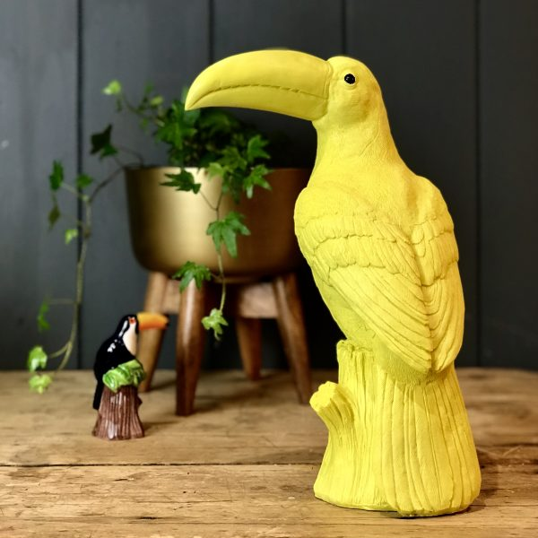 Bobby The Yellow Toucan Moneybox