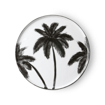 Palm Trees Serving Plate
