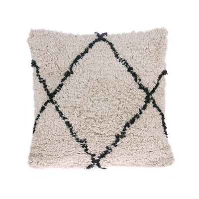 Berber inspired Diamond Cushion