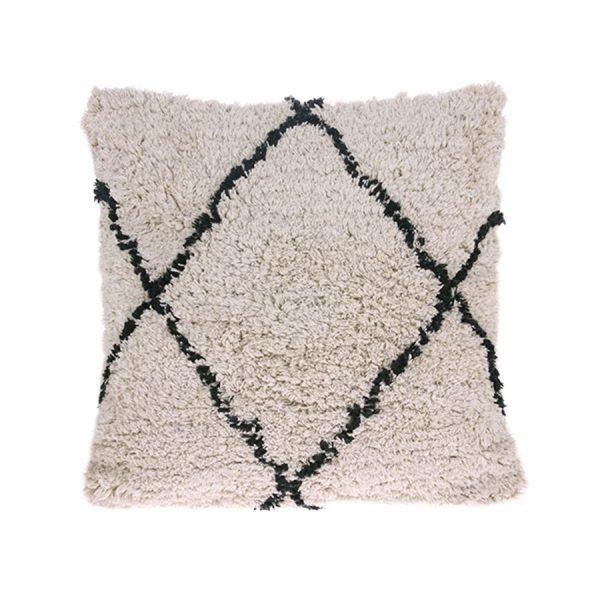 Berber inspired Diamond Cushion