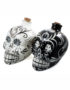 Day of the Dead Sugar Skull Drinks Decanter in Black or White