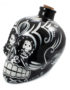 Day of the Dead Sugar Skull Drinks Decanter in Black
