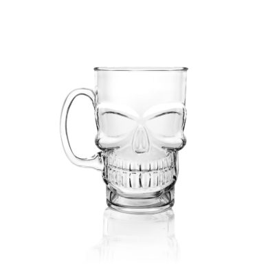 Glass Skull Tankard