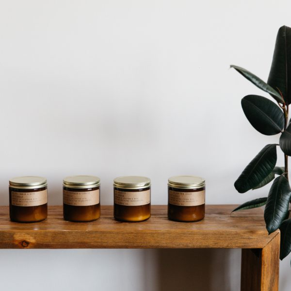Our newest collection of handmade soy candles
