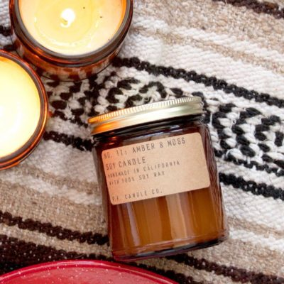No. 11 Amber & Moss Soy Candle