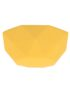 Sunshine Yellow Faceted Silicone Ceiling Rose Cover