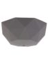 Gunmetal Grey Faceted Silicone Ceiling Rose Cover