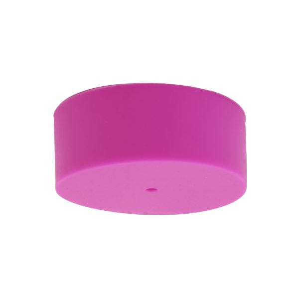 Hot Pink Plain Silicone Ceiling Rose Cover